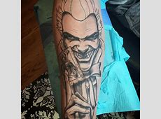 Tatouage Joker Bouffon Tattoo Art