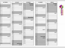 Schoolkalender 20172018 en 20182019 online Katholiek