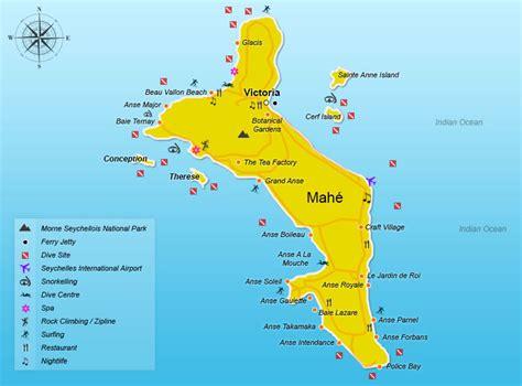 Carte Du Monde Avec Les Seychelles by Seychelles Carte Et Image Satellite