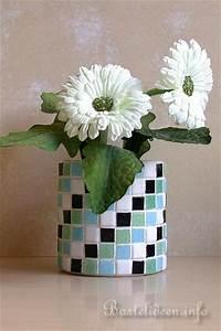 Mosaik Basteln Mit Kindern : bastelideen f r den sommer recycling basteln mosaik dose ~ Lizthompson.info Haus und Dekorationen