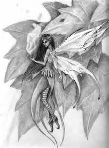Fairy Pencil Drawing