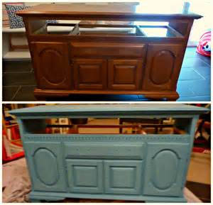 Cabinets Painted with Chalk Paint