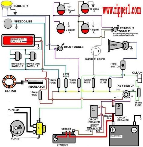 Wiring Diagram With Accessory, Ignition And Start