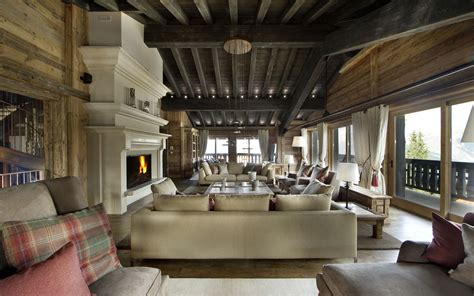 luxury ski chalet chalet edelweiss courchevel 1850 firefly collection