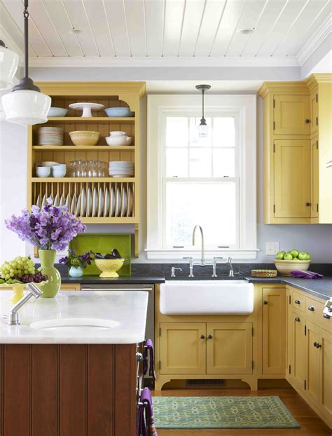 Yellow Kitchen Cupboards by My Favorite Kitchens Of 2010 Stacystyle S