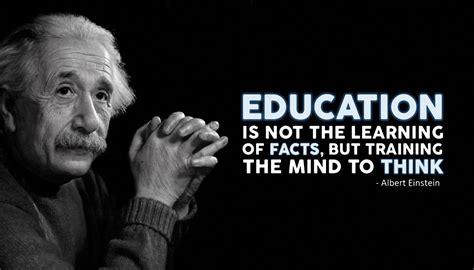 education albert einstein quotes motivational poster