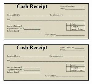 Receipt form free printable documents for Free receipt template
