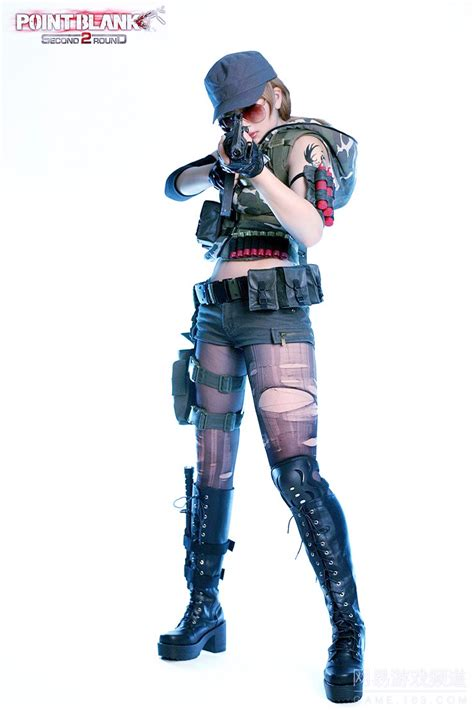 Viper Red Game Fps Point Blank Sexy Girl Rooms