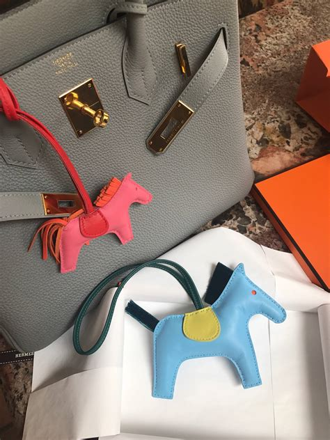 hermes introduces horsehair rodeo charms pursebop