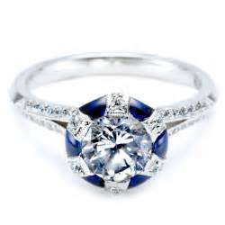 Blue sapphire engagement ring meaning engagement ring usa for Sapphire wedding rings meaning