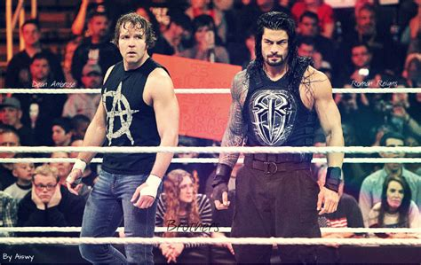 Dean Ambrose and Roman Reigns Brothers