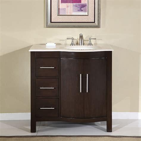 modern single sink bathroom vanity  cream