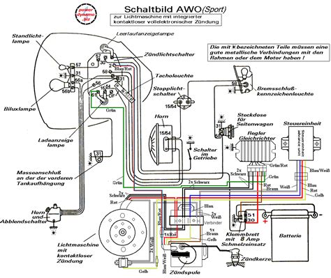 generator and regulator wiring diagram ignition coil