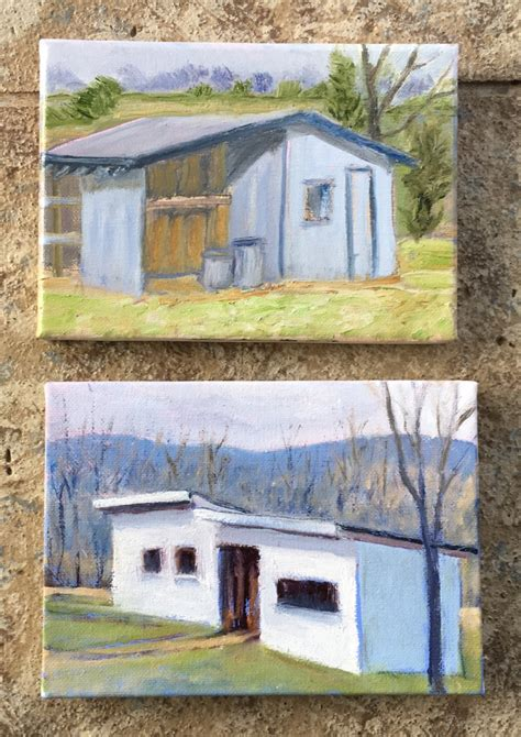 two sheds meg west paintings two sheds crozet