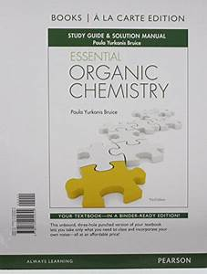 9780134255644  Essential Organic Chemistry Study Guide