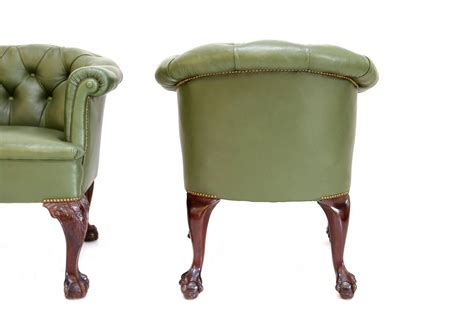 pair of chesterfield club chairs for sale at 1stdibs