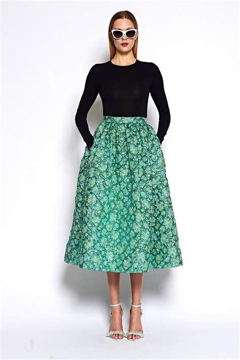 ideas  tea length skirt  pinterest midi