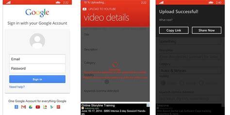 upload  youtube app  users