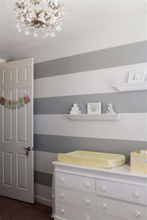 Kinderzimmer Streichen Streifen by Grey And White Striped Nursery Baby Kid Stuff Striped