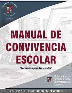 Colegio Cumbres Manual De Convivencia 2014