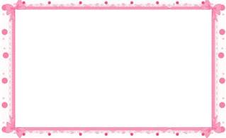 Pink Baby Shower Borders Free Printables