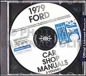 1979 Lincoln Repair Shop Manual Cd Continental Town Car