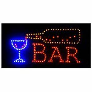 Open Bar Led Neon Business Motion Light Sign off with