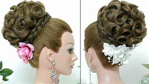 Bridal Bun Hairstyles For Medium Hair HairStyles