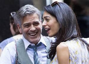Amal Alamuddin Visits George Clooney On 'Money Monster ...