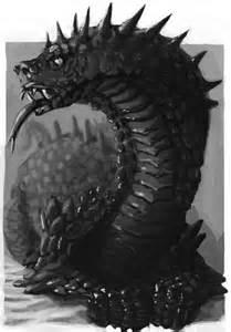 Dungeons and Dragons Basilisk