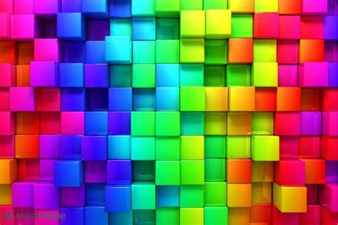 rainbow lava l multicolor rainbow cubes buy prepasted wallpaper murals online