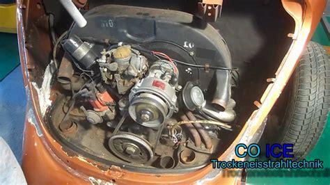vw käfer motor kaufen motor reinigung beim vw k 228 fer mit trockeneis