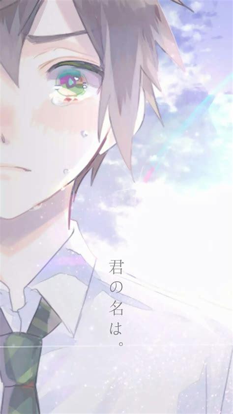 Anime Couple Terpisah Kimi No Nawa 新海诚动漫你的名字唯美高清手机壁纸 Pchome手机壁纸