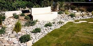 Jardin Paysager Avec Galets. jardin paysager avec galets 1 bordure ...