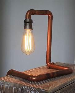 Lampe Industrial Style : lampe design industriel avec ampoule vintage edison d co loft atelier luminaires par carte ~ Markanthonyermac.com Haus und Dekorationen