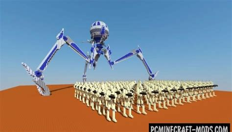 cis droid army map  minecraft   pc java mods