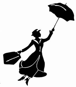 mary-poppins-disney-silhouette: …   Pinteres…