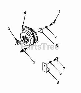 Cub Cadet Parts On The Pto Clutch Diagram For 1864  14a