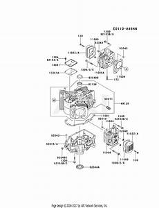 Kawasaki Fh430v Crankcase