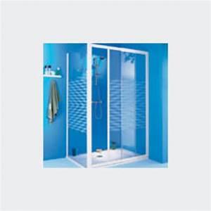 Pose Paroi De Douche : parois de douche en verre pour pose en angle ou de face ~ Dailycaller-alerts.com Idées de Décoration