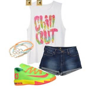 Cute Outfits with KD Shoes for Girls