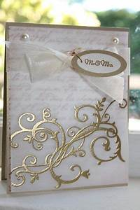 25 best ideas about wedding cards handmade on pinterest With wedding cards embossing machine