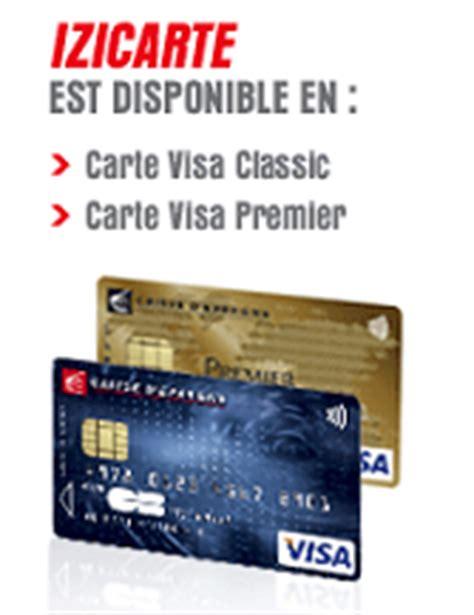 la carte de paiement izicarte de la caisse d 233 pargne