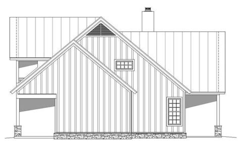 Traditional Style House Plan 51457 with 3 Bed 4 Bath in