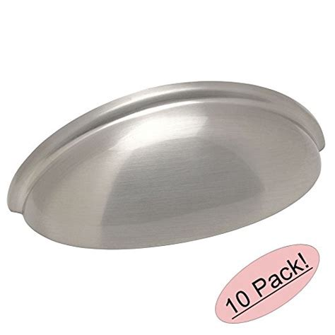 kitchen cabinet cup pulls cosmas 174 783sn satin nickel cabinet hardware bin cup drawer 5218