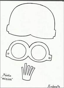 minion template google and minions on pinterest With minion mask template