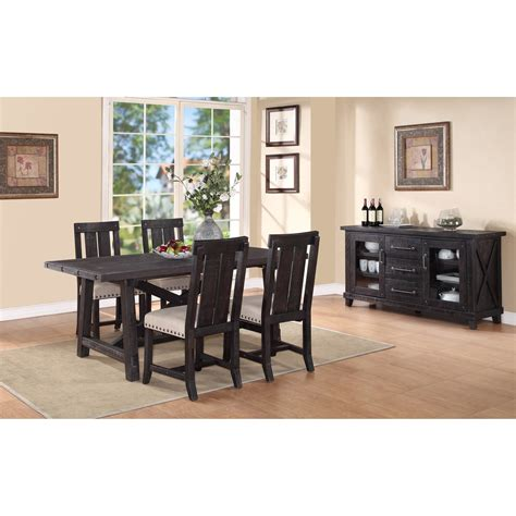 zion 5 rectangular dining table set ruby gordon
