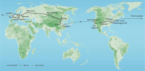 Boat From Us To Europe by Around The World In 53 Days The Ultimate Great Rail