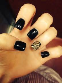 Images about dark black nails on nail