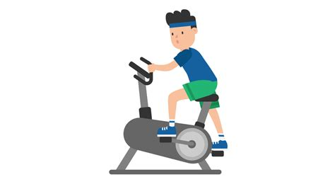 File:Man on an Exercise Bike Cartoon.svg - Wikimedia Commons